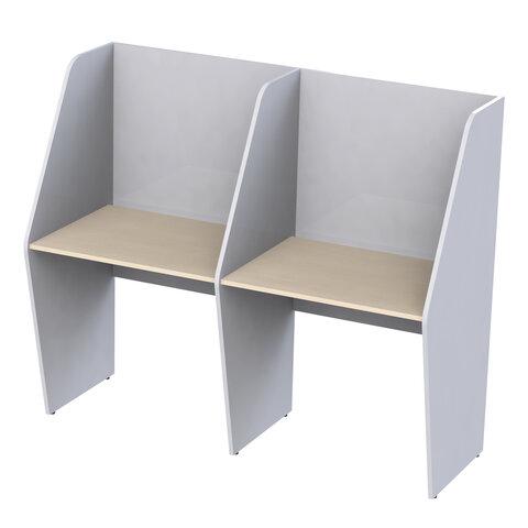 Стол односторонний, 2 места,