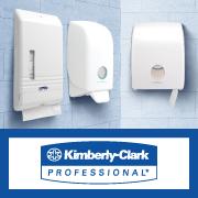 Снижение цены до 75% на диспенсеры KIMBERLY-CLARK