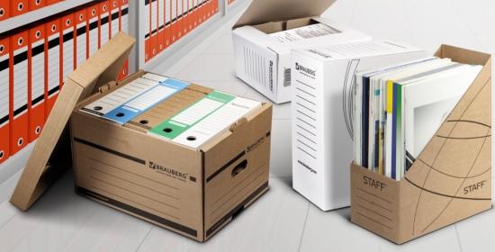 Архивные системы BRAUBERG и STAFF